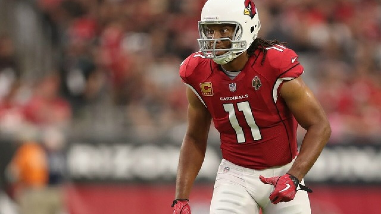 Larry Fitzgerald sets NFL record for most catches with one team
