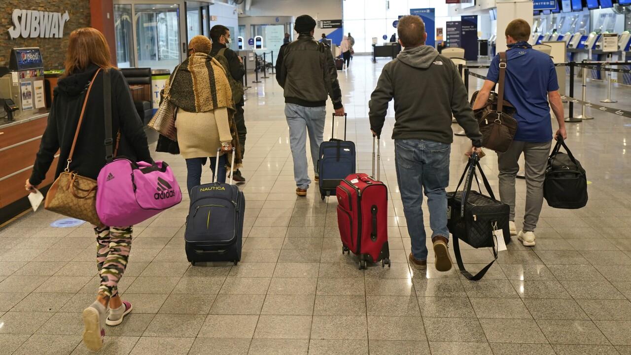 Virus Outbreak Holiday Travel Ohio