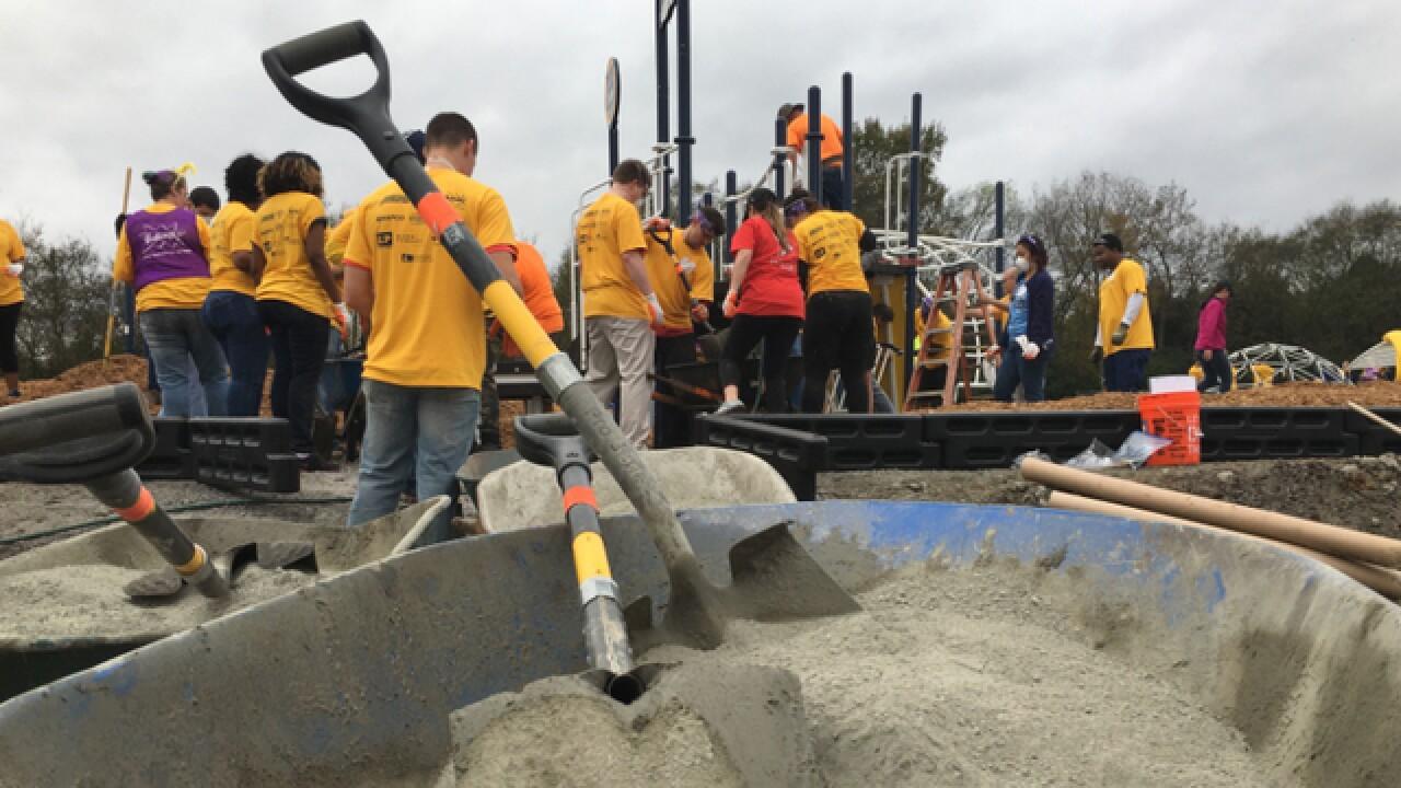 KaBoom, Nashville Predators Foundation Build Playground