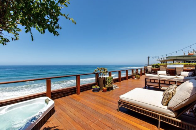 Panoramic ocean views at Solana Beach home