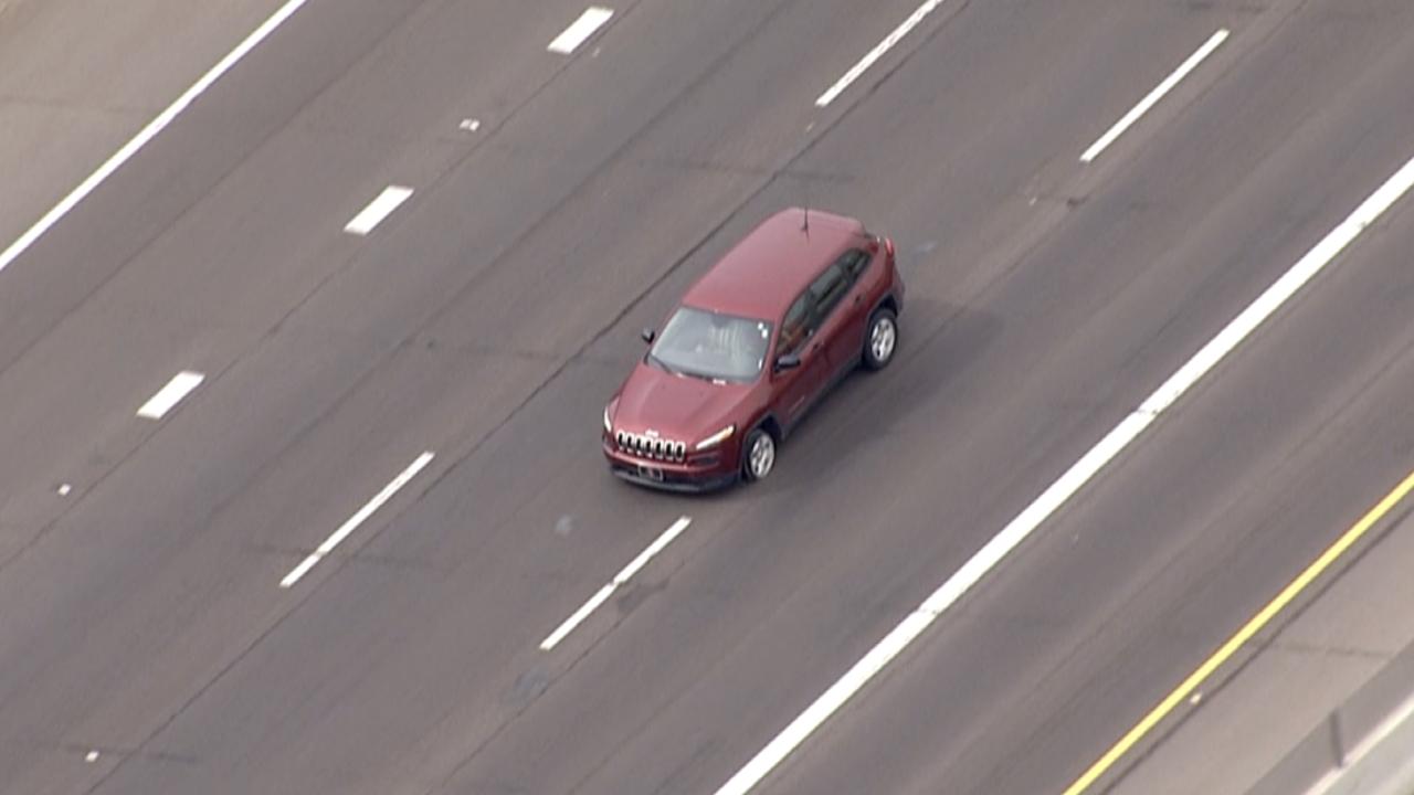 Interstate 17 pursuit