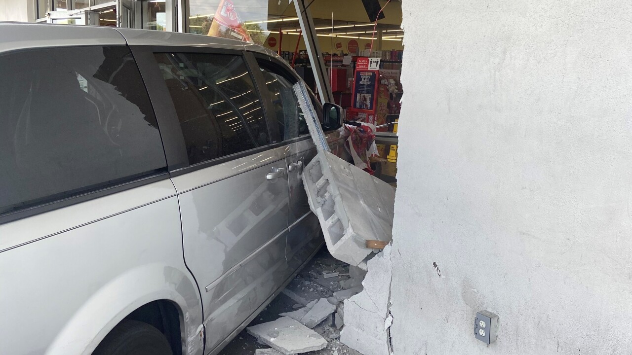 Family Dollar crash