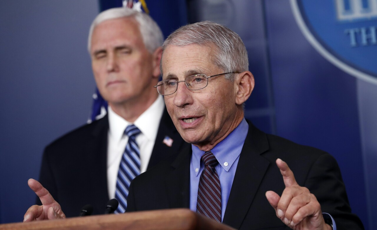 Dr. Fauci hopes handshakes are a thing of the past
