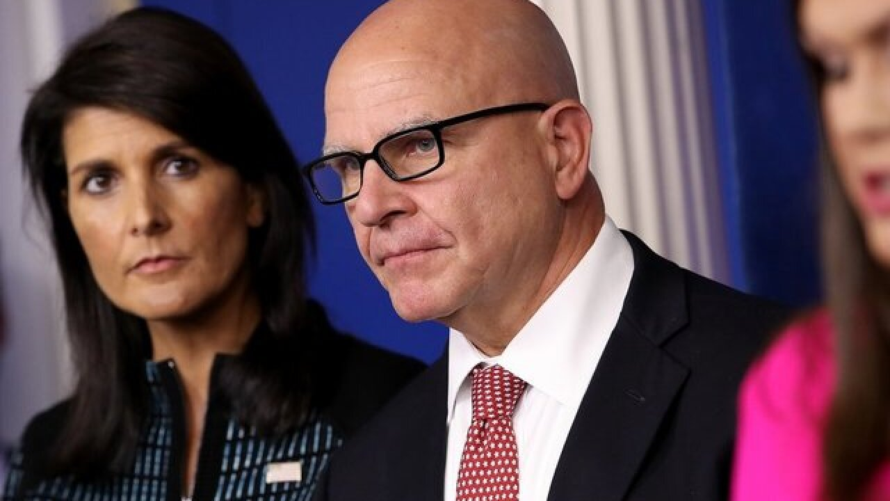 White House looking at a 'stricter' travel ban, McMaster says