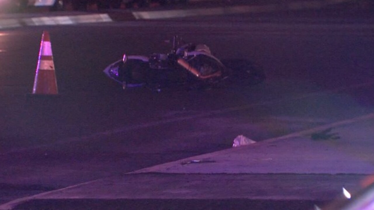 Woman hit, killed by motorcycle in Mira Mesa