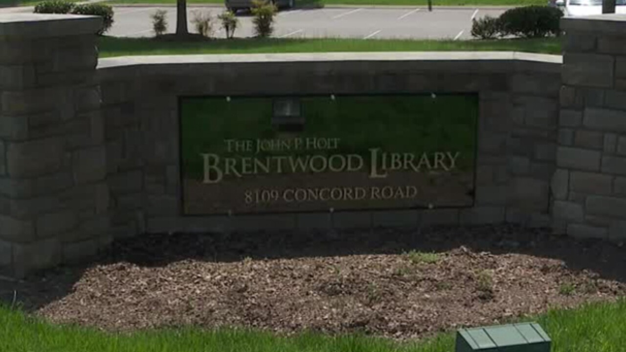 Brentwood Library Plumbing Mistake May Have Dumped Sewage Near Creek