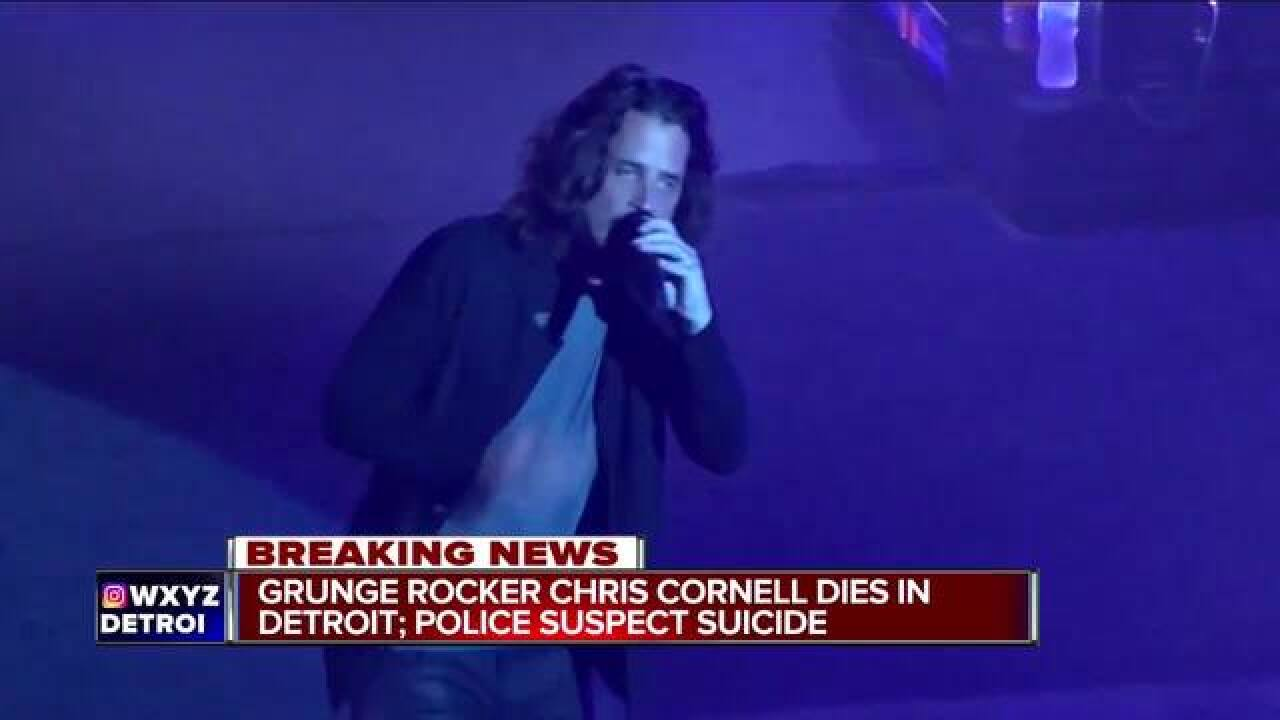 Chris Cornell from Soundgarden dead in Detroit