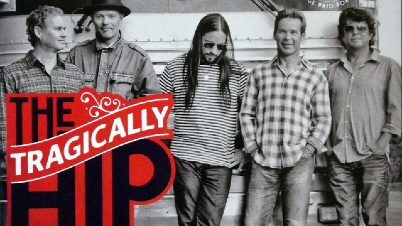 Tonight in Larkin Square: The Hip's farewell