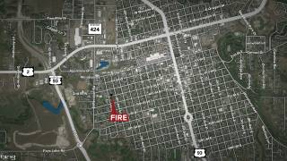 Kalispell House Fire Map