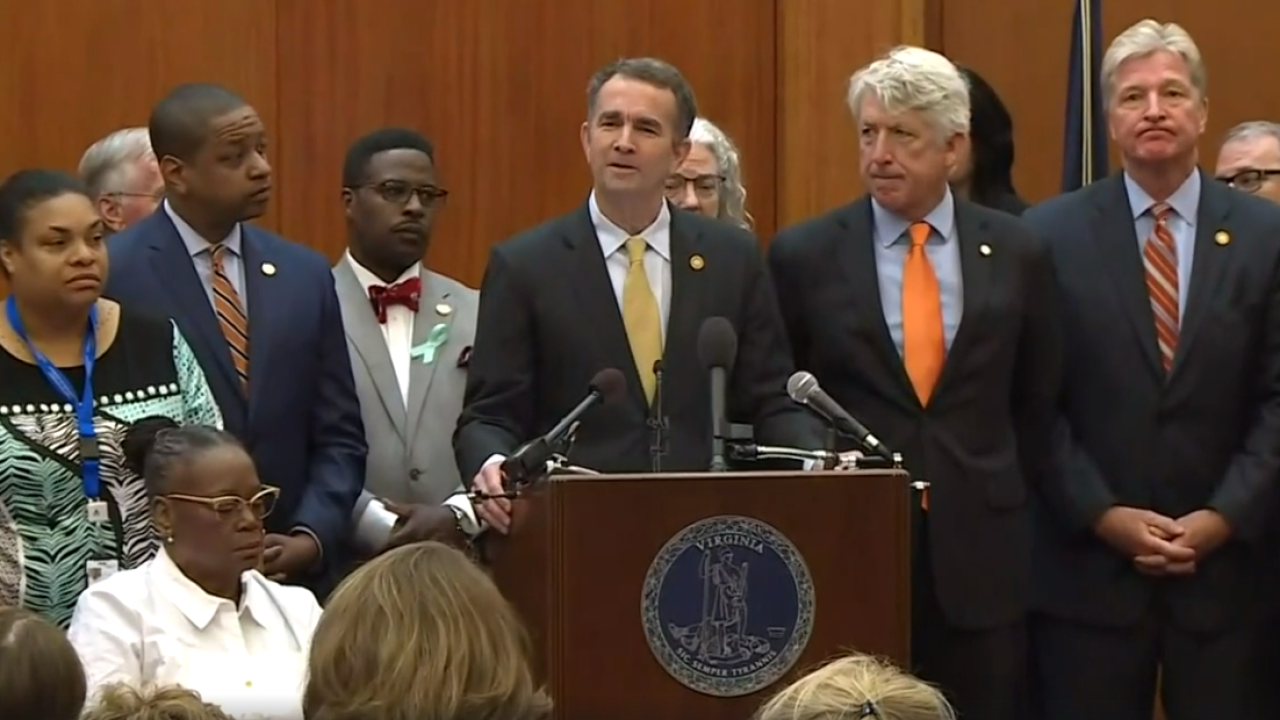 Watch: Gov. Northam calls for special session to address gun violence after Virginia Beach mass shooting
