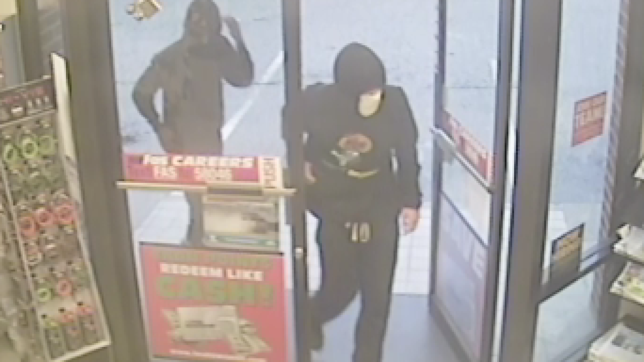 Williamsburg Police search for gas station armed robbery suspects
