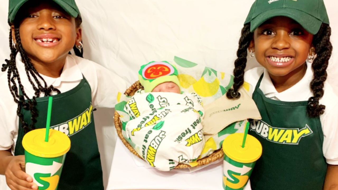 Subway costume