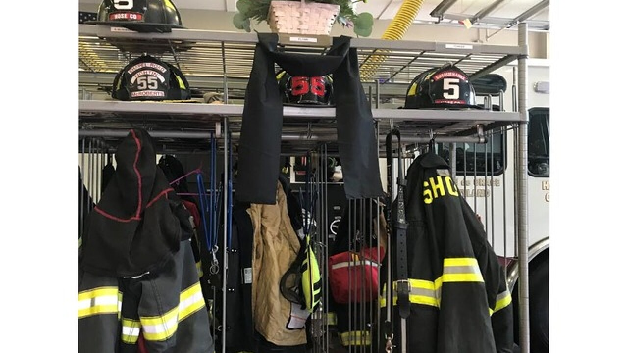 HCFD grieves for fallen firefighter Nathan Flynn