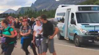 Glacier NP visits up, uncertainty over record season
