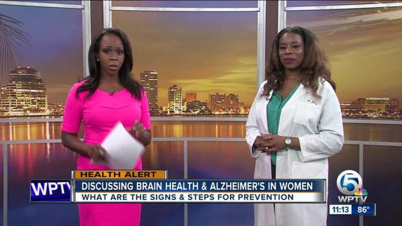 Brain health & Alzheimer's in women
