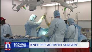 Knee replacements becoming morecommon