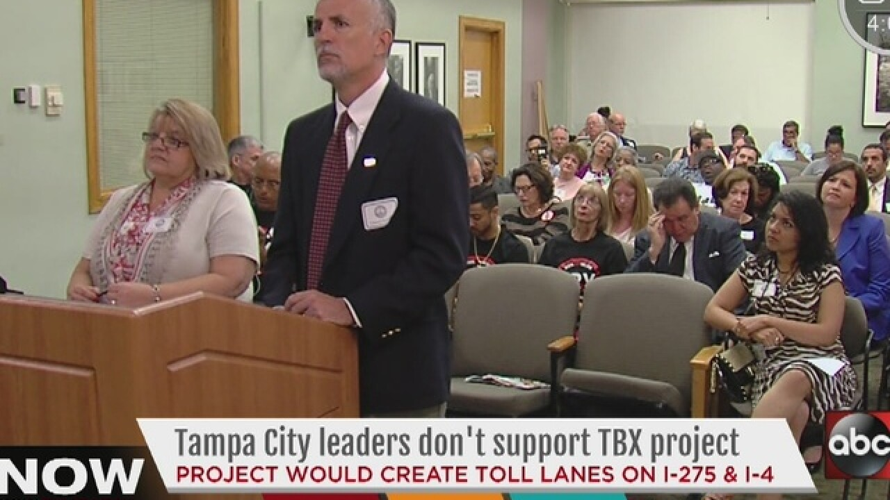 Leaders concerned about FDOT's TBX project