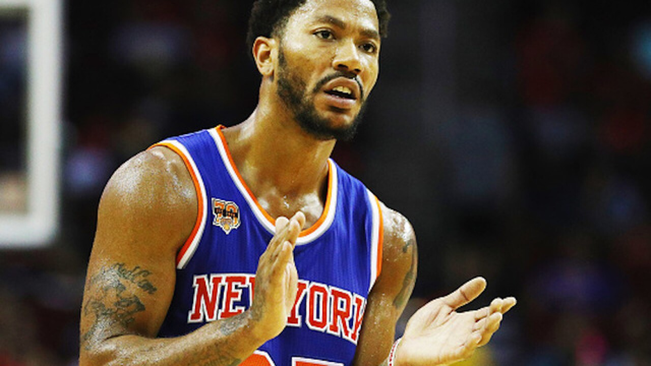 NBA star Derrick Rose cleared by jury in civil rape case