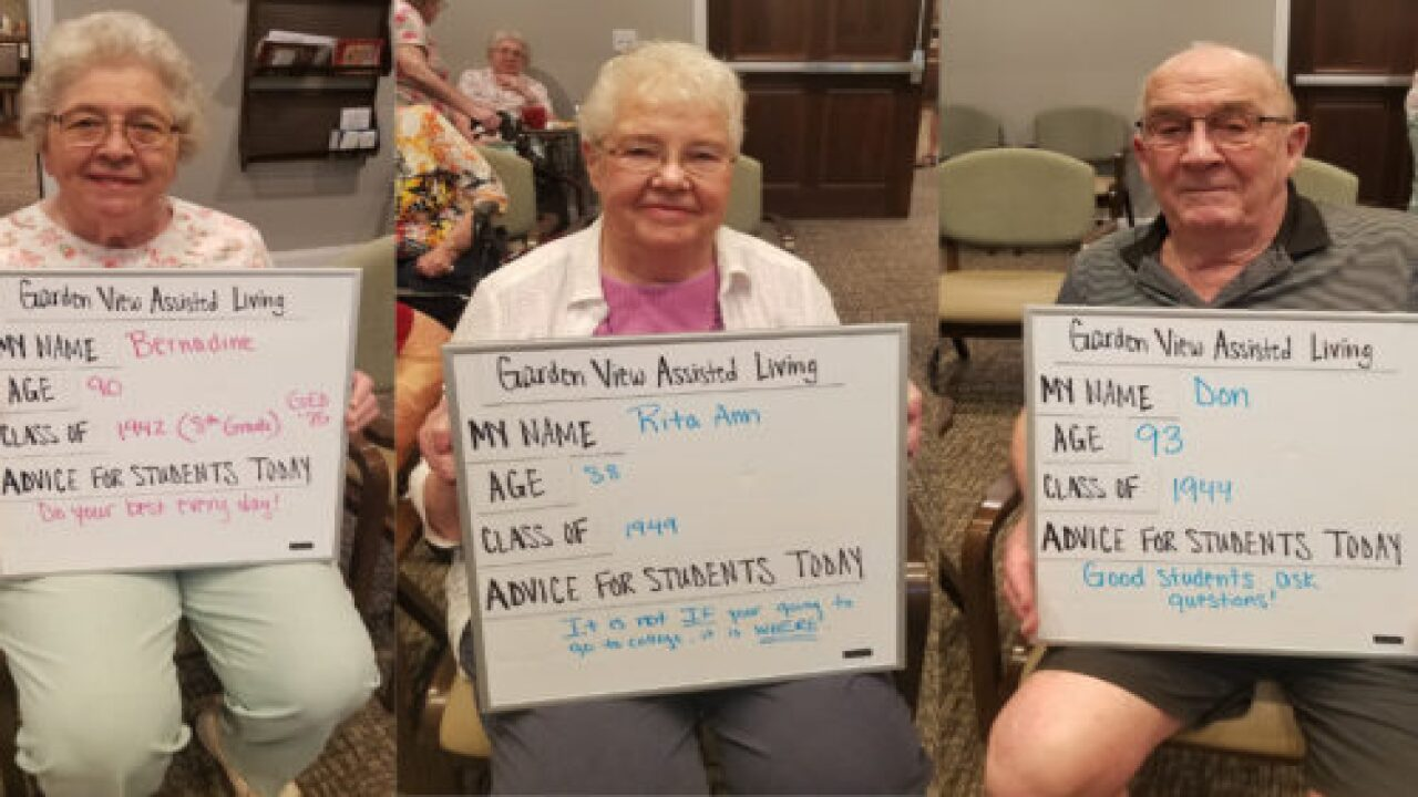 This Assisted Living Facility Took 'back-to-school' Photos Of Its Residents And They're Amazing