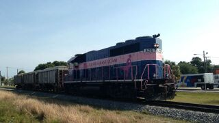 Stock: Florida East Coast train