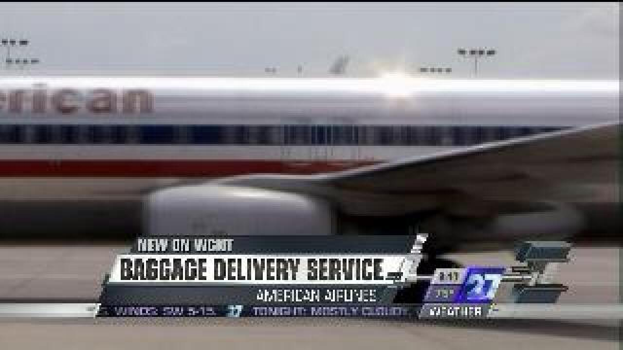 American Airlines now offering baggage delivery service