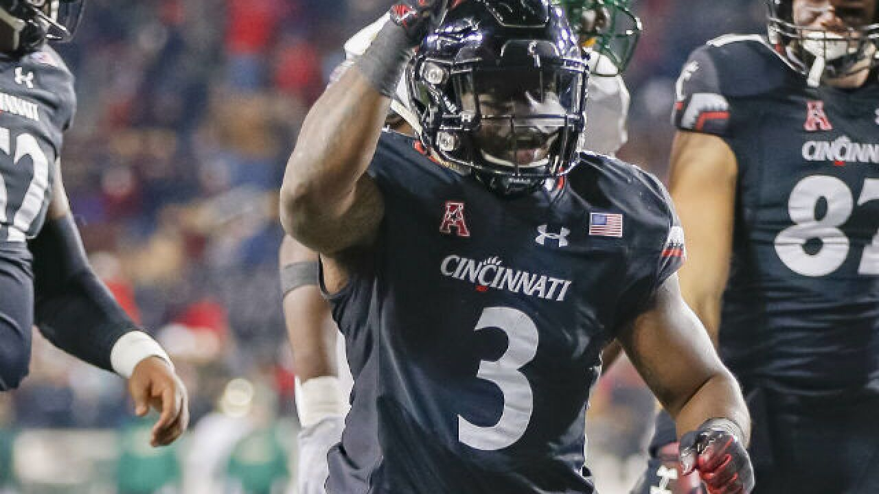 No. 25 Cincinnati takes down one Florida foe, one to go