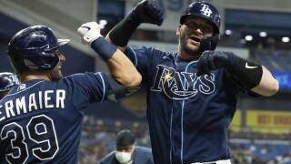 Mike Zunino, Kevin Kiermaier Rays Baseball