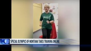 Special Olympics athletes turn to training and connecting online