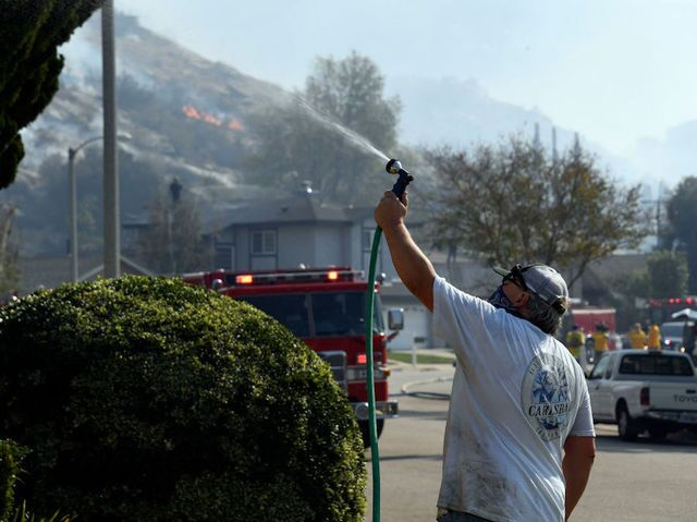 Photos: 3 wildfires rage in California