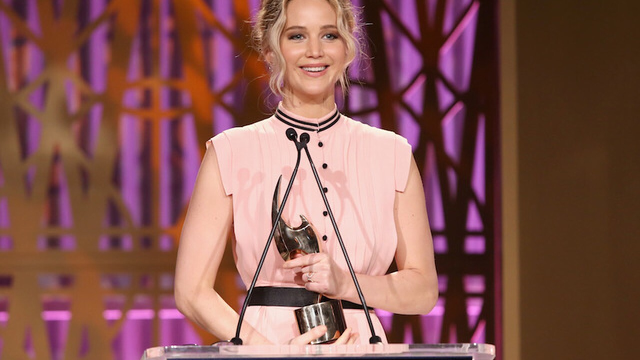 Jennifer Lawrence says she's been 'waiting' to give Trump 'a martini to the face'
