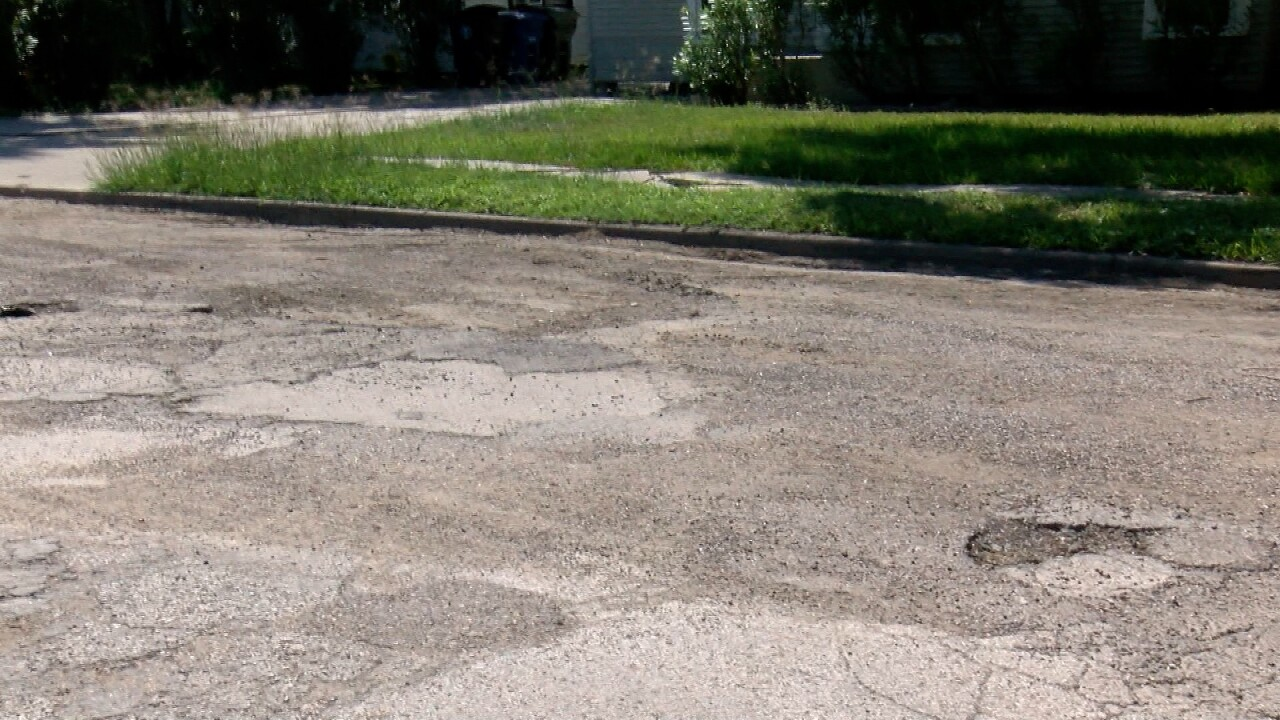 Zero-rated Corpus Christi road will be getting fixed on Monday