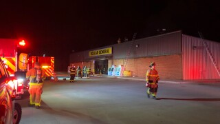 christiana dollar general fire