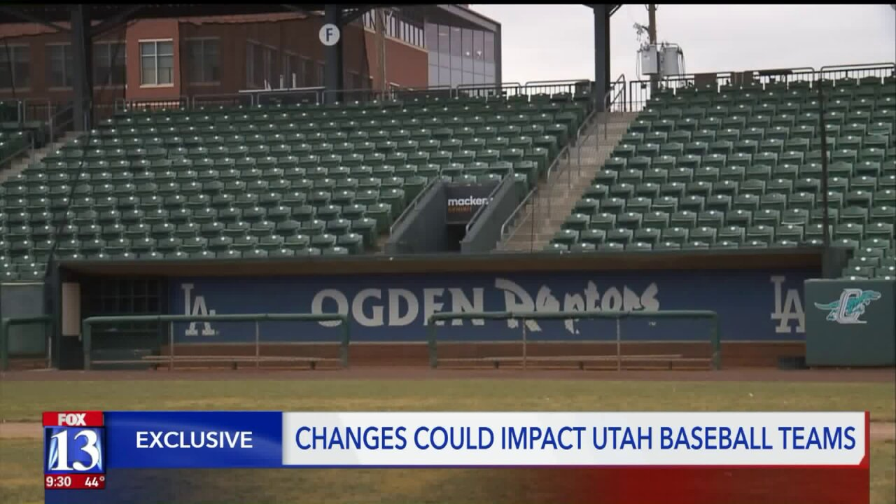 Ogden Raptors react to reports of potential loss of MLBaffiliation