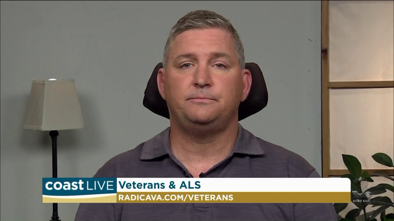 One man's effort to raise ALS awareness for veterans on Coast Live