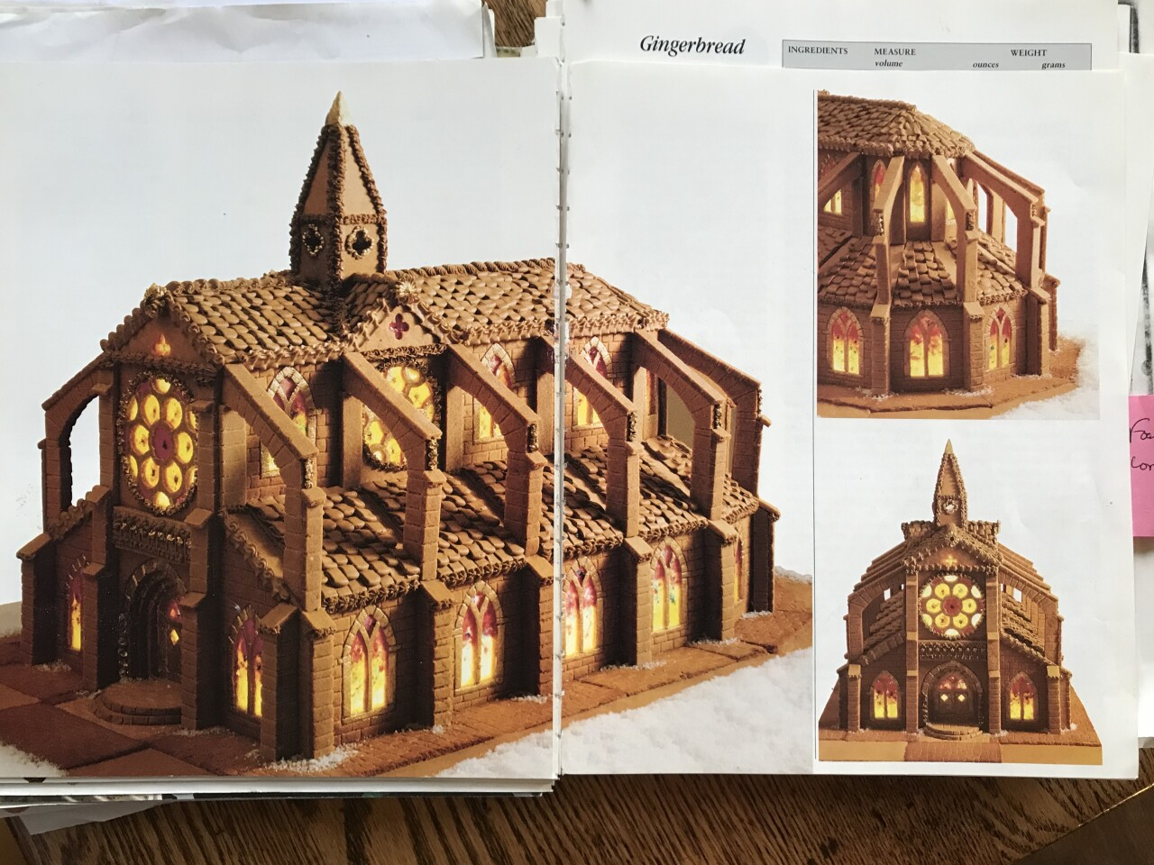 Gingerbread Notre Dame cathedral