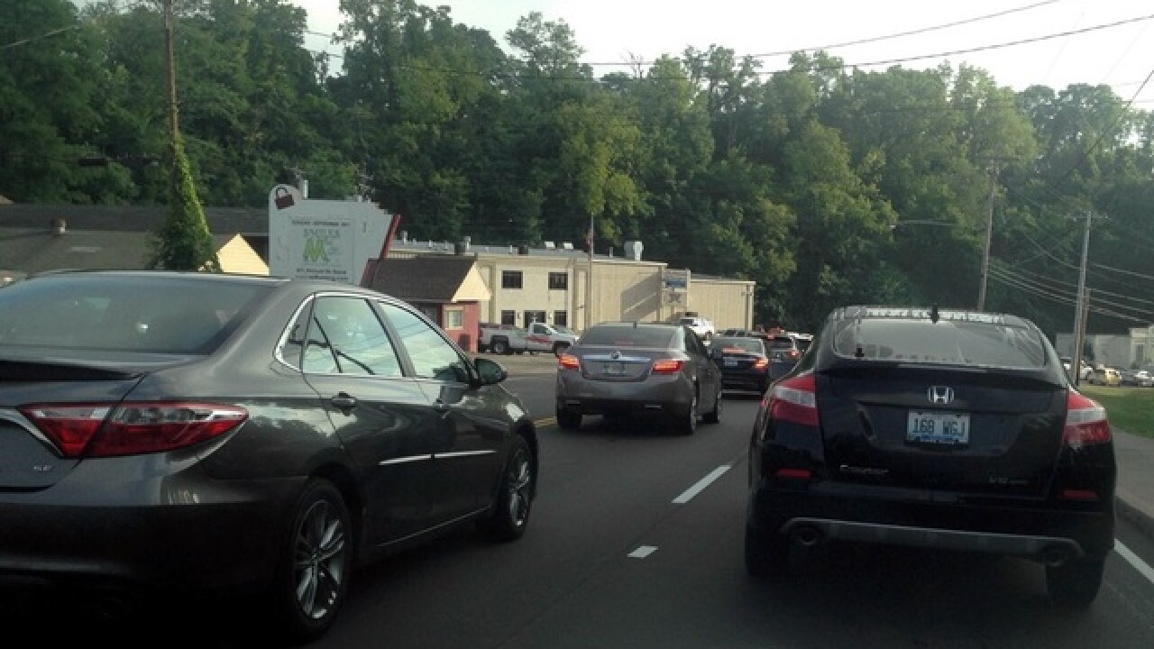 Brent Spence Bridge repair leads to traffic headache for Northern Kentucky drivers