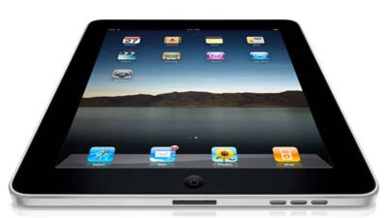 A new, high-definition iPad from Apple