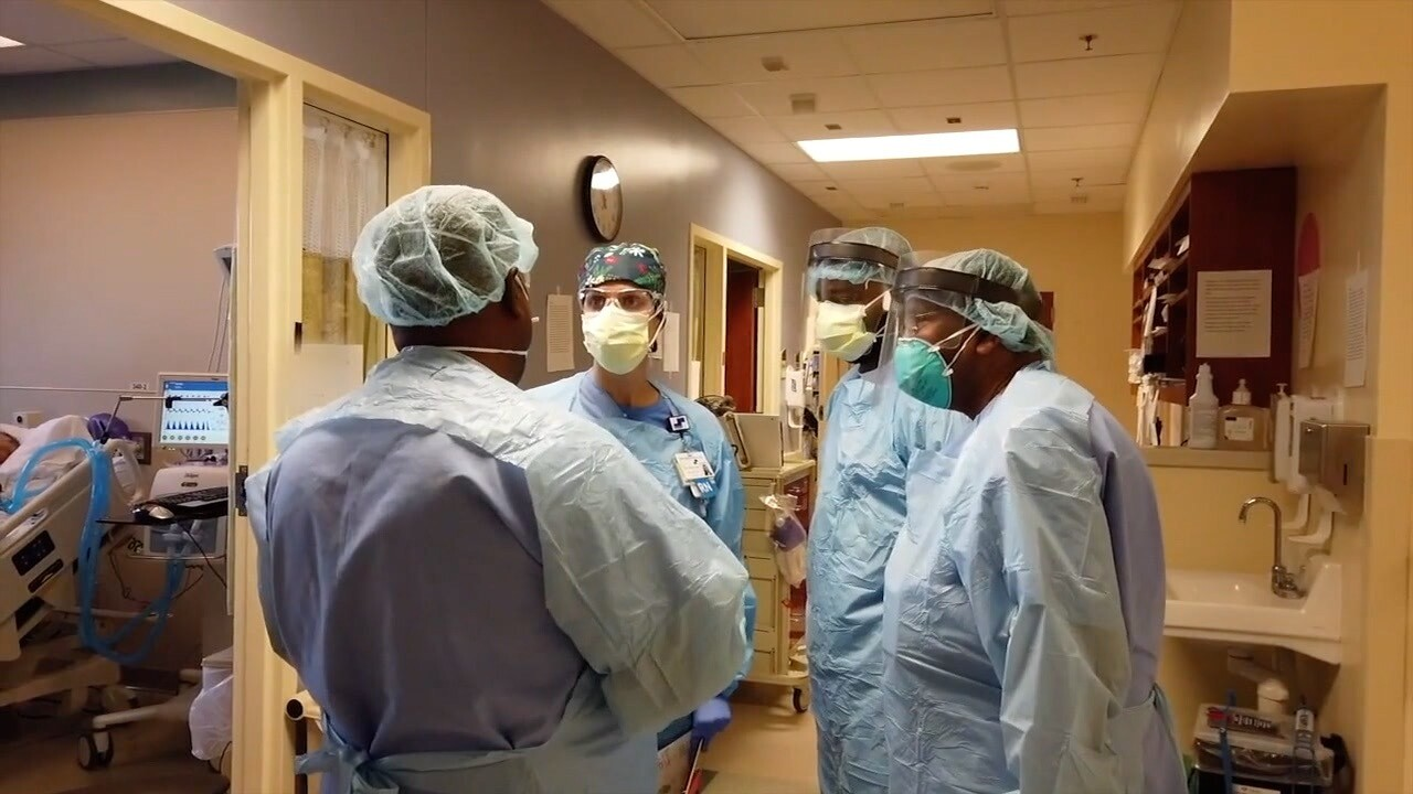 Doctors talk to each other on 8/13/2021