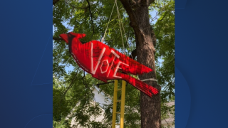 Professor in Tennessee's art project aims to inspire people to vote
