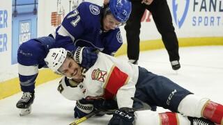 Panthers Lightning Hockey