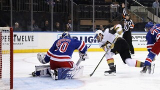 Vegas Golden Knights v New York Rangers