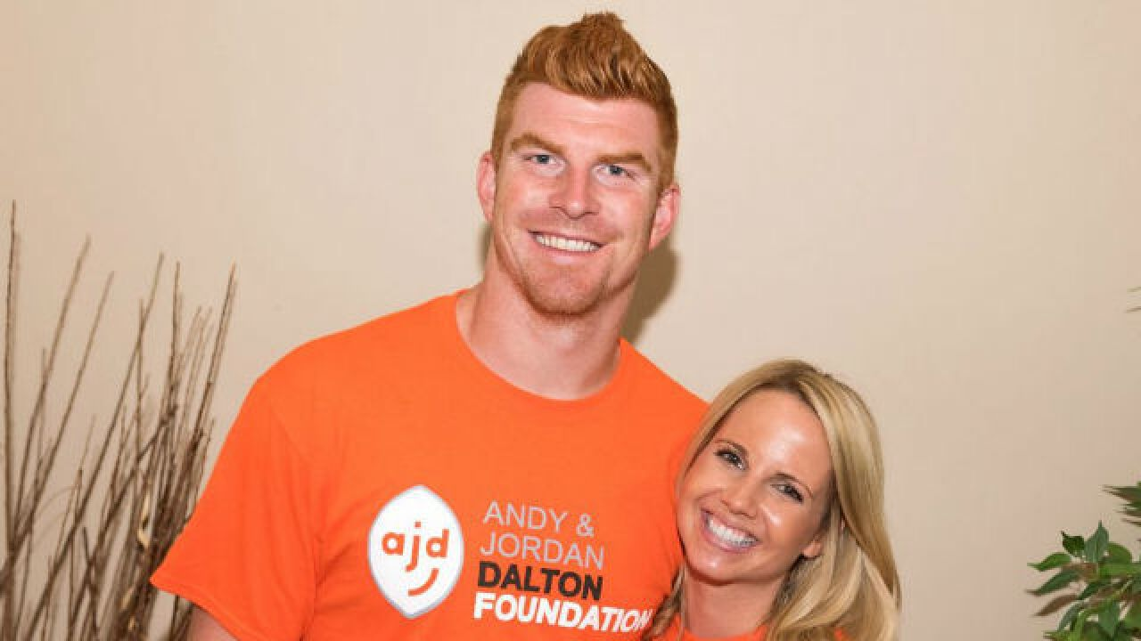Andy Dalton gives back to Buffalo for donations