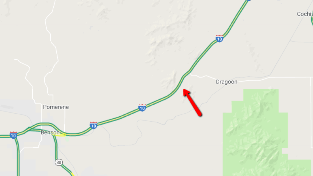 Wreck closes I-10 EB near east Benson, lanes partially reopen on california interstate map, az map highways, city of peoria az map, az road map, arizona interstate map, az county map, interstate highway 10 map, interstate 17 map,