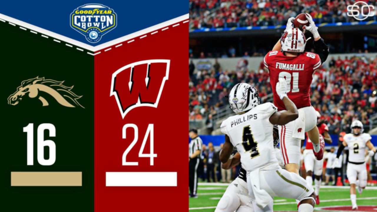 Badgers win the Cotton Bowl!