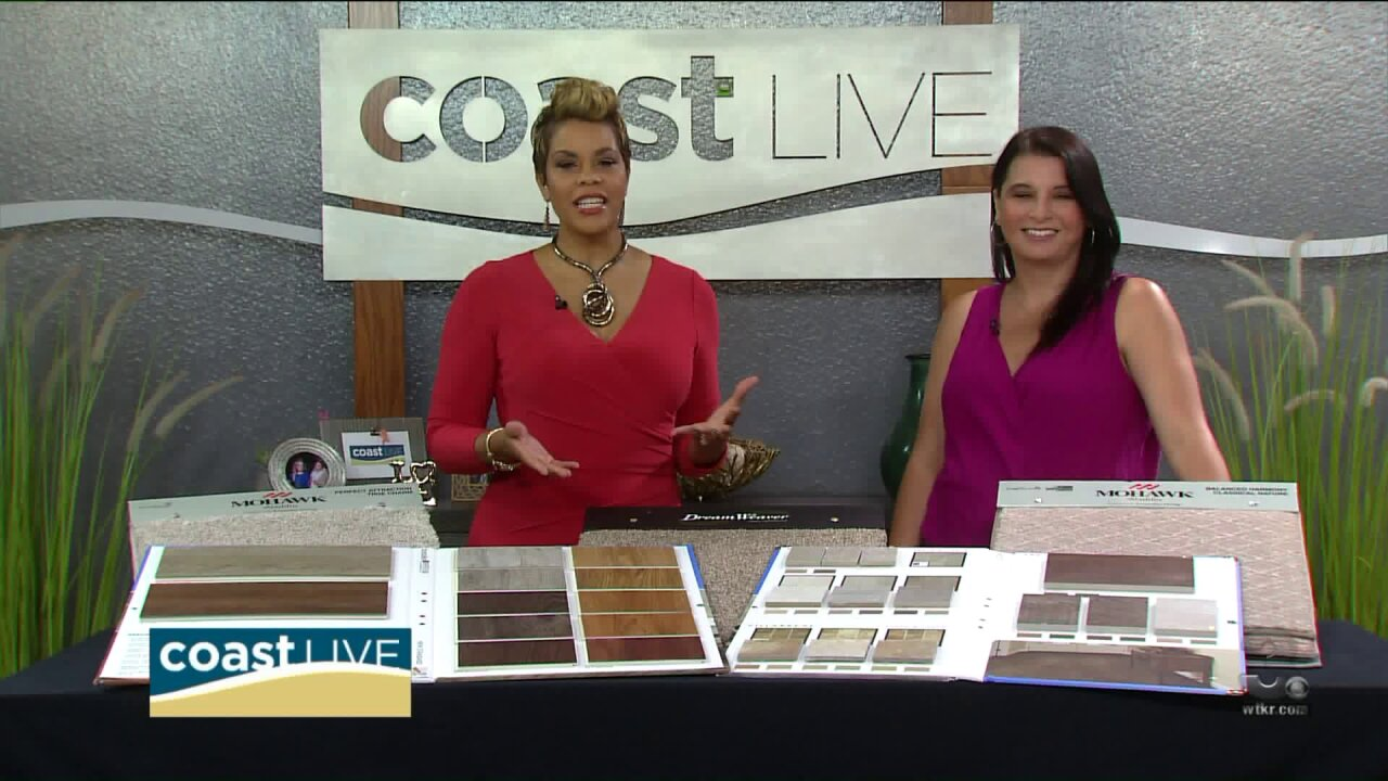 Ideas for outside living and new flooring inside on CoastLive