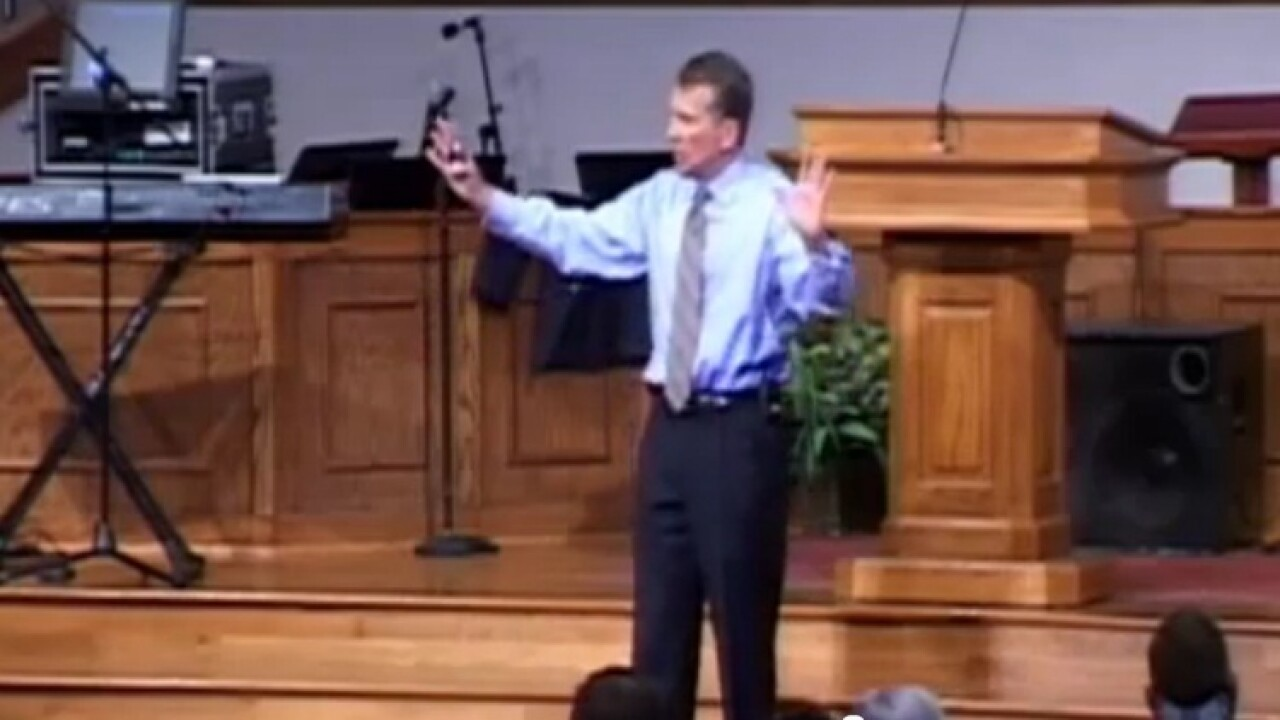Pastor says ok to crack wrists of gays, then apologizes