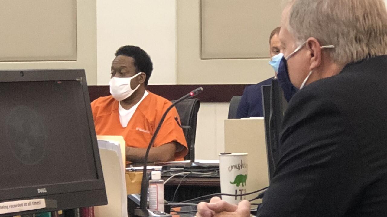 Calvin Atchison in court wideshot
