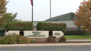 Missoula County Jail population on the rise