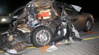 UHP: 1 dead, 1 critical after distracted driver rear-ends vehicle on SR-40