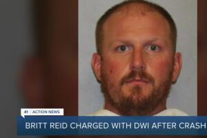 Britt Reid charged with DWI after crash